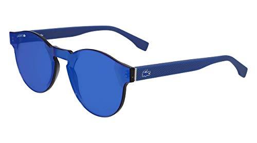 Lacoste L903s Shield Sunglasses Matte Blue 58 ()