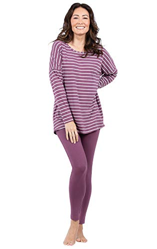 Addison Meadow Fun Womens Pajamas - PJ Sets for Women, Mauve