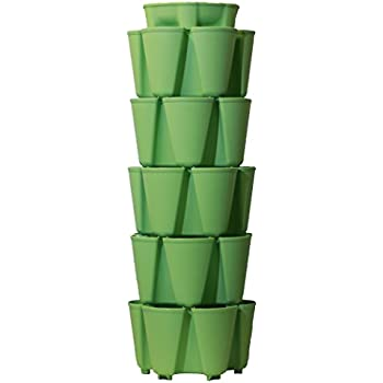 HUGE GreenStalk 5 Tier Vertical Garden Planter With Patented Internal  Watering System Great For Growing A Variety Of Strawberries, Vegetables,  Herbs, ...