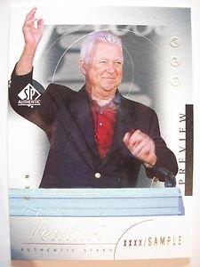 2001 SP AUTHENTIC PREVIEW SAMPLE CARD KEN VENTURI #45 !!! BOX 21