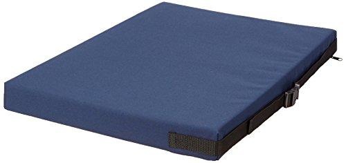 "Sammons Preston Bariatric Memory Foam Cushion, 24"" x 18"", Blue, Wheelc"