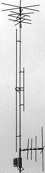 MFJ-1796 MFJ1796 Original MFJ Enterprises 12 ft. Heigh 40,20,15,10,6,2 Meters 1,500W PEP, SO-239, UHF Female Vertical Stealth - Meter Match Cb