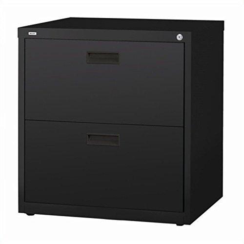 Staples Hl1000 Lateral File Cabinet 30 Wide 2 Drawer Black