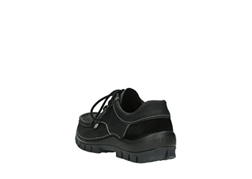 Lacets Chaussures Noir Fly À 11002 Comfort Wolky Seamy Nubuck Winter w1qanC