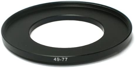 Pixco 49-82mm Step-Up Metal Adapter Ring 49mm Lens to 82mm Accessory