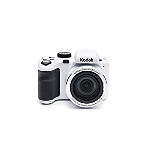 KODAK PIXPRO Astro Zoom AZ421-WH 16MP Digital Camera with 42X Optical Zoom and 3″ LCD Screen (White)