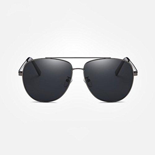 LX Hombres Frame lens Gafas al clásica water de libre Color Gray Gafas Lens frame sol conducción Silver aire de de Black viaje Gray polarizadas LSX nueva silver XrqpwX