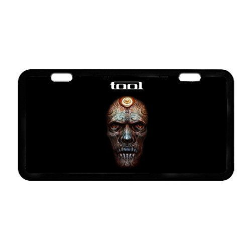 Tool Band Rock Metal Car License Plate Design Custom Car Tag