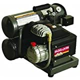 Mi-T-M AC1-HE02-05M1 Hand Carry Electric Air Compressor, 5-Gallon, Single Stage, 2-HP, 120 V, 15.0 A For Sale