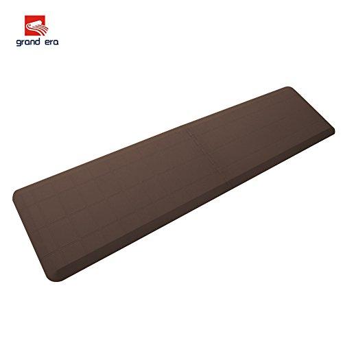 "GRAND ERA Anti-fatigue Interlocking Comfort Mat Multi-purpose Floor Mat, 18""x 36"", 2 Pack, Great for Workstations, Kitchens, Bedroom, Laundry."