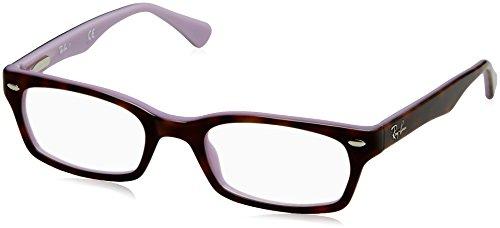 Ray-Ban Women's RX5150 Eyeglasses Top Havana On Opal Violet - Women Ray For Eye Ban Glasses