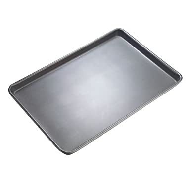 WearEver 68201 Commercial Nonstick Bakeware 17-Inch by 11-Inch Large Non-Stick Baking Sheet, Silver