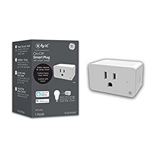C by GE Smart Plug with Smart Bridge, White, On/Off Smart Plugs that work with Alexa and Google Home, Bluetooth and WiFi Smart Plugs, No Hub Required