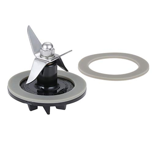 Dreld SPB-456-2 Black Blade Cutting Cutter Two Rubber Sealing Gasket O-ring, Replacement Part Fit for Cuisinart Blenders Models # BFP703 BFP-703 BFP703B BFP-703CH SPB-7 SPB7 SPB-7BK CB8 CB9 ()