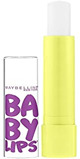 Maybelline Baby Lips Moisturizing Lip Balm SPF 20, Peppermint 0.15 oz (Pack of 3) 4 Pack - Humco Glycerin and Artificial Rose Water 6 oz Each