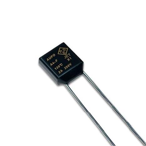 5Pcs New BF240 Aupo Thermal Fuse TF Cutoff 240C 110VAC //250VAC 10A
