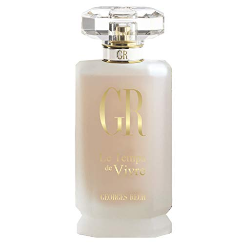 Georges Rech Le Temps De Vivre Eau de Parfum Spray for Women, 3.3 Ounce