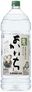 宝酒造 よかいち 麦 25度 4L 1ケース(4本入)