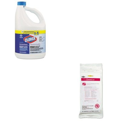 KITCOX30966CTCOX69260 - Value Kit - Clorox Hospital Cleaner Disinfectant Towels with Bleach (COX69260) and Clorox Germicidal Bleach (COX30966CT) by Clorox