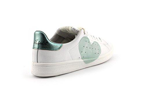Sneaker Nira Rubens DACU29 DAIQUIRI Cuore Bianco/Acquamarina Misura-41