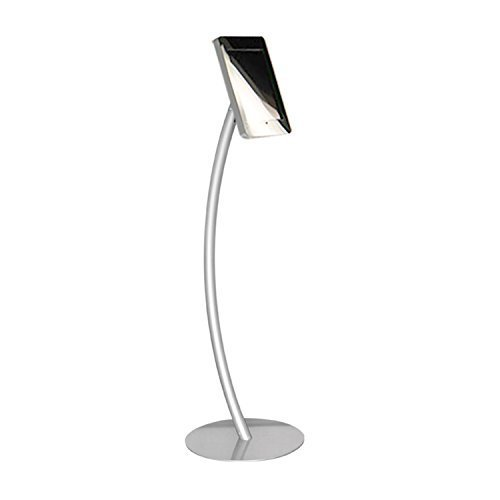 Universal Tablet Holder, Stylish Ipad Floor Stand Display,, Anti-Theft Tablet Mount, Great for Trade Show, Event, Business.
