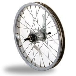 Sta Tru Steel Single Speed Coaster Brake Hub Rear Wheel (16X1.75-Inch) by Sta Tru