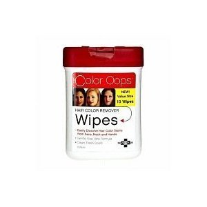 Developlus Color Oops Hair Color Remover Wipes 10 Count by Developlus