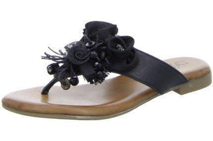 para Laufsteg Negro 1 negro Zuecos FS141701 mujer qzUgzH