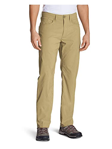 Eddie Bauer Men's Horizon Guide Five-Pocket Jeans - Straight Fit, Saddle Regular ()