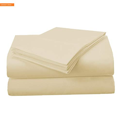 - Mikash New Soft 1500 Series Premium Quality 100% Brushed Soft Microfiber 3-Piece Luxury Deep Pocket Cooling Bed Sheet Set, Hypoallergenic, Wrinkle and Stain Resistant - Twin XL, Beige | Style 84600498