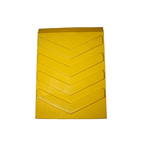 Esco 12592 Safety Yellow Pro Series Wheel Chock, Commercial Trucks and Tractors by Esco (Image #4)