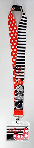Minnie Mouse Lanyard (Disney Minnie Mouse Deluxe Lanyard, Multi)
