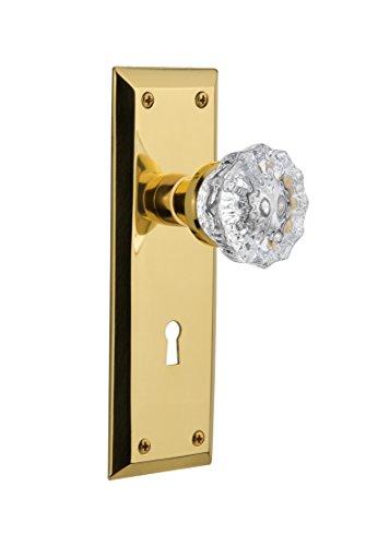 2 3/8 Inch Polished Brass - 6