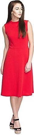 ADDYVERO Women's Cotton A Line Dress