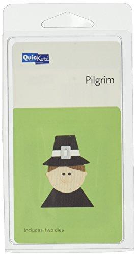 QUICKUTZ We R Memory Keepers 2-Inch by 2-Inch Die, Pilgrim Boy