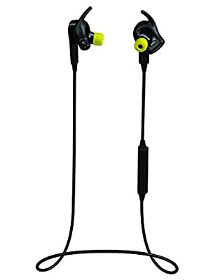 Jabra Sport Pulse Special Edition Wireless Bluetooth Stereo Earbuds with Built-In Heart Rate Monitor, Black