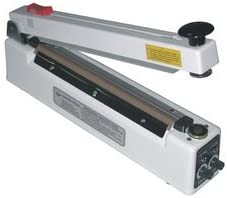 "16"" Magnetic Hold Bag Sealer w/Cutter 8 mil Thickness 5mm Width 1000 W - AIE-405MC 31q9RiEV4aL"