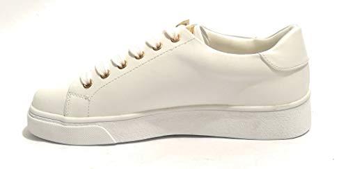 Donna Sneaker Con Ecopelle Bianco Farfalla amp; D19gg28 Gold Colore wEqPzEZ
