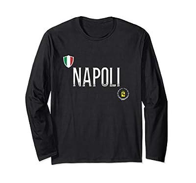 Napoli T Shirt - Naples Italy Long Sleeve Tee Shirt