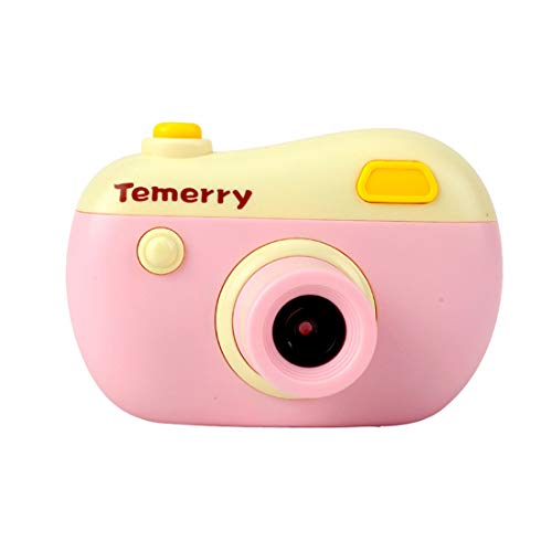 JJR/C V01 Children Digital Camera 8MP 2.0 HD Screen Camcorder with Play Games Mini Multiple Function Camera Children Gift Or Toys (Pink, 9.3 x6.5 x3.0cm)