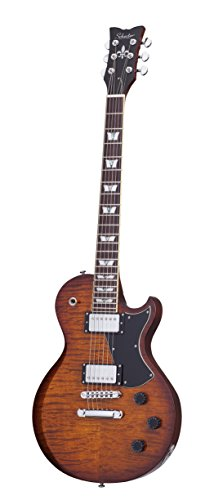 Schecter 1321 Solid-Body Electric Guitar, Faded Vintage Sunburst