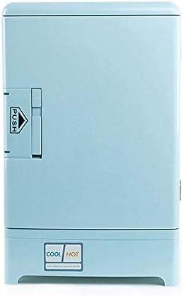 ZWH-ZWH 車の冷蔵庫、熱電ミニ冷蔵庫クーラーとウォーマー - 15リットル - コンパクト&ポータブル - - AC&DC電源コード、ミニ冷蔵庫家庭、オフィス、車、寮やボートの場合 車載用冷蔵庫