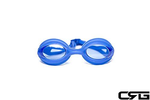 CRGスポーツブルーUV保護アンチフォグ調節可能なSwim水泳ゴーグルGlasses Adult 6200 AF   B00NLMD5MY