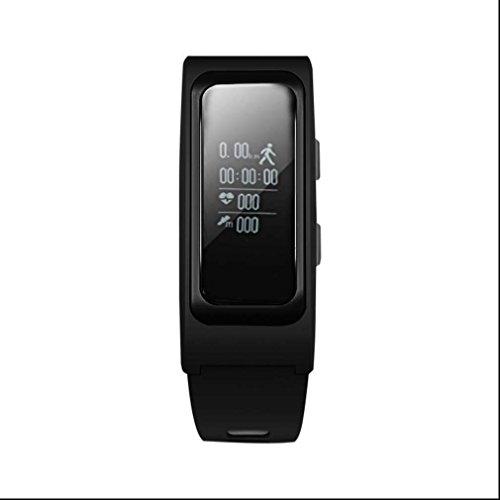 Bracelet intelligent moniteur d'activité Traqueur de Sommeil,Compteur de pas ,Calories Brûlées,Bracelet Fitness avec Caméra/surveillance du sommeil/analyse podomètre pour Android et iOS