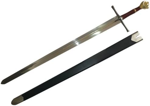 AIT Collectibles S0103 Prince Peter Narnia Lion Magic Kingdom Sword Engravings W/Scabbard 47.5