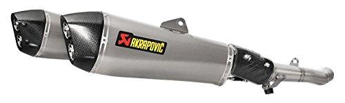 Akrapovic Slip-On Line with Hexagonal Muffler Titanium/ titanium/ carbon slip-on (dual muffler) S-K14SO6-HZAAT