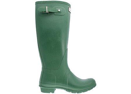 (Hunter Women's Original Tall Green Rain Boots - 7 D(M) US)