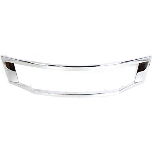 09 honda accord chrome grill - 7