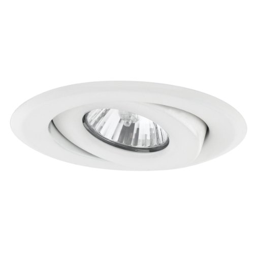Globe Electric 4'' Dimmable Downlight Swivel Spotlight Recessed Lighting Kit, Easy Install Push-N-Click Clips, 90540 by Globe Electric (Image #1)