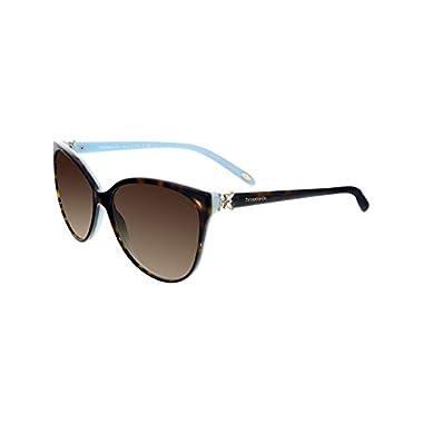 4c6caa7867 Tiffany TF4089B 8134-3B Tortoise TF4089B Cats Eyes Sunglasses Lens Category  3 S
